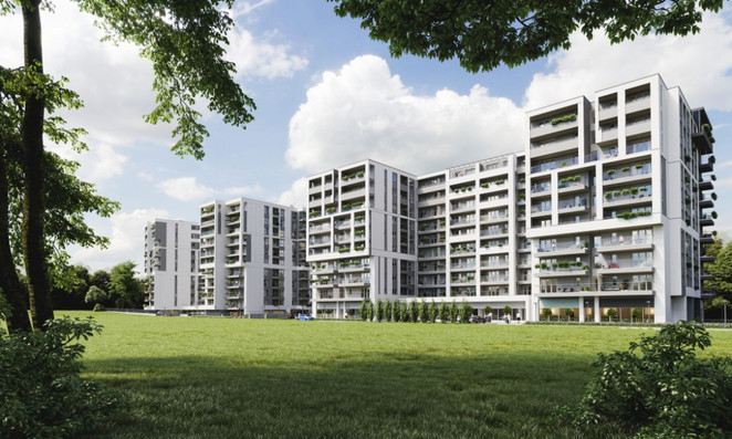 Morizon WP ogłoszenia | Komercyjne w inwestycji VARMELO, Kraków, 125 m² | 0917