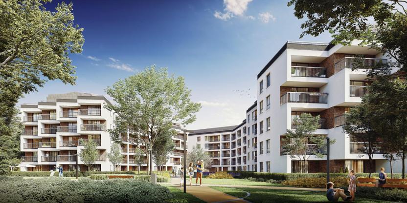 Mieszkanie w inwestycji Na Bielany, Warszawa, 78 m² | Morizon.pl | 9833