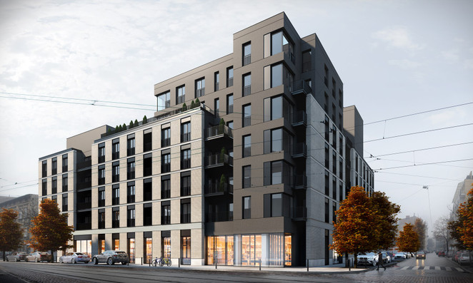 Morizon WP ogłoszenia | Mieszkanie w inwestycji Fyrtel Wilda, Poznań, 79 m² | 8985