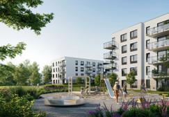 Mieszkanie w inwestycji Zielony Widok, Gdańsk, 30 m²
