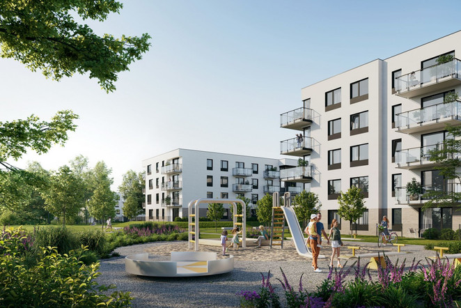 Morizon WP ogłoszenia | Mieszkanie w inwestycji Zielony Widok, Gdańsk, 40 m² | 9311