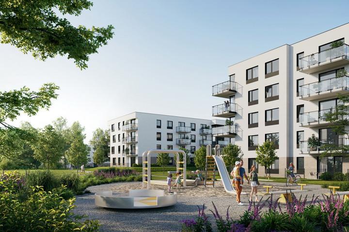 Morizon WP ogłoszenia | Nowa inwestycja - Zielony Widok, Gdańsk Jasień, 32-86 m² | 8227