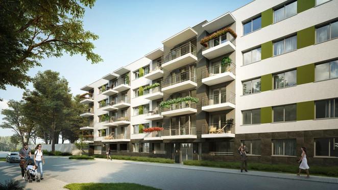 Morizon WP ogłoszenia | Mieszkanie w inwestycji Oliwkowe, Łódź, 36 m² | 7772
