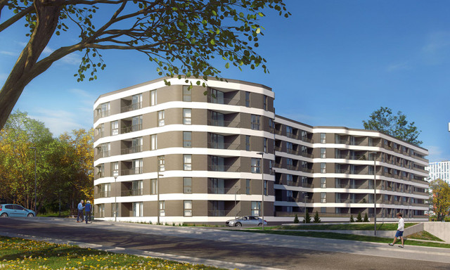 Mieszkanie na sprzedaż <span>Kraków, Bieńczyce, ul. Promienistych</span>
