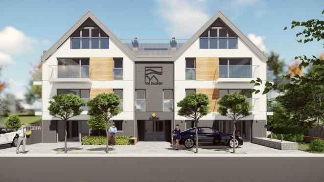 Morizon WP ogłoszenia   Lokal usługowy w inwestycji Apartamenty pod Dalinem, Myślenice, 47 m²   4741
