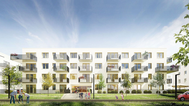 Morizon WP ogłoszenia | Mieszkanie w inwestycji Jagodno - mieszkania, Wrocław, 46 m² | 5204