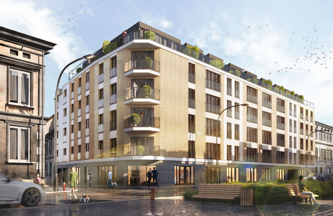 Morizon WP ogłoszenia | Mieszkanie w inwestycji Lwowska 10 Residence, Kraków, 34 m² | 2873