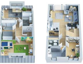 Dom w inwestycji Nowina I, Dachowa, 97 m²