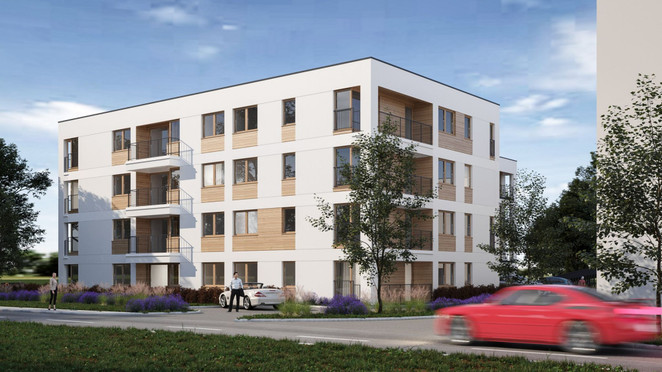 Morizon WP ogłoszenia | Mieszkanie w inwestycji PSZCZELNA 32, Kraków, 56 m² | 6417