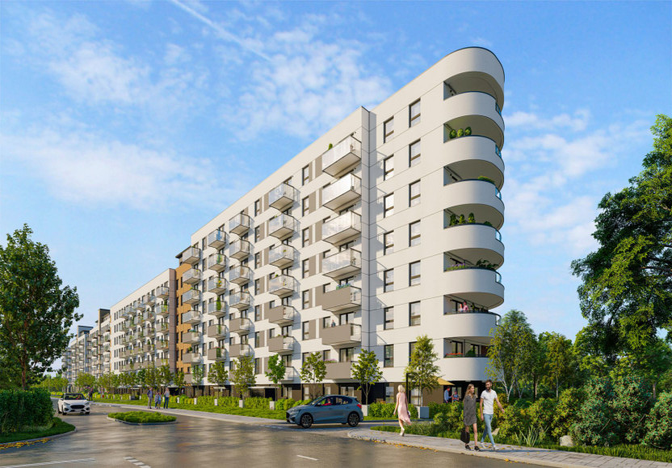 Mieszkanie w inwestycji Osiedle Latarników Etap 2, Gdańsk, 63 m² | Morizon.pl | 8856