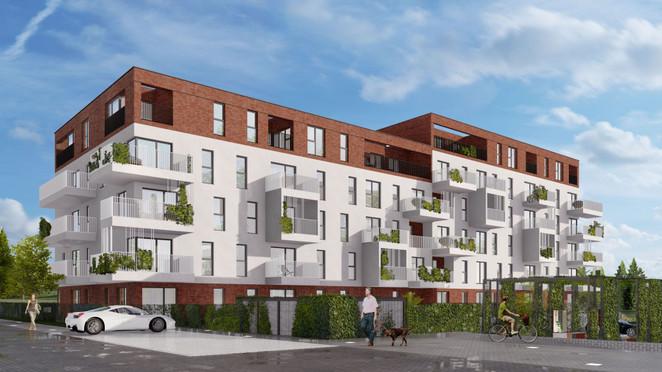 Morizon WP ogłoszenia | Mieszkanie w inwestycji Sielec Renarda, Sosnowiec, 43 m² | 2786