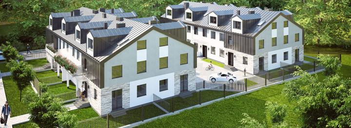 Morizon WP ogłoszenia | Nowa inwestycja - Domy na Zdrowiu, Łódź Polesie, 84-141 m² | 9188