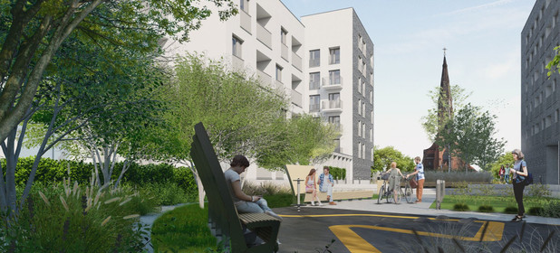 Mieszkanie na sprzedaż 49 m² Katowice Śródmieście ul. Raciborska / Strzelecka - zdjęcie 2