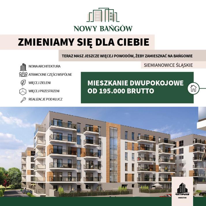 Nowa inwestycja - Nowy Bańgów w Siemianowicach Śląskich, Siemianowice Śląskie Bańgów | Morizon.pl
