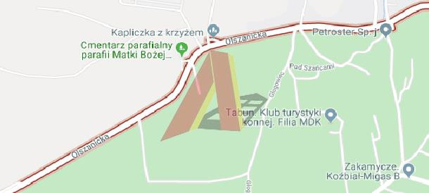 Działka na sprzedaż 5000 m² Kraków Krowodrza Olszanica Olszanicka - zdjęcie 2