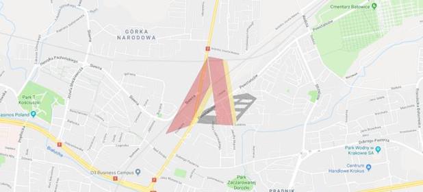 Działka na sprzedaż 2800 m² Kraków Śródmieście Prądnik Czerwony Strzelców - zdjęcie 1