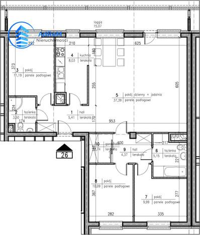 Morizon WP ogłoszenia | Mieszkanie na sprzedaż, Białystok Nowe Miasto, 98 m² | 6474