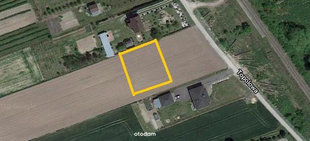 Działka na sprzedaż 997 m² Lubelski Niedrzwica Duża Niedrzwica Kościelna Topolowa - zdjęcie 1