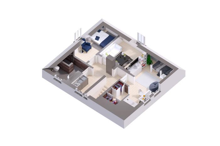 Mieszkanie na sprzedaż, Olsztyn Westerplatte, 50 m² | Morizon.pl | 7633