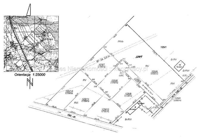 Działka na sprzedaż, Lipiny, 1806 m²   Morizon.pl   3694