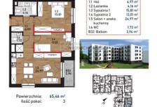 Mieszkanie na sprzedaż, Kraków Bieżanów-Prokocim, 66 m²
