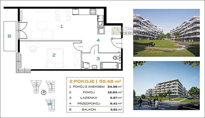 Morizon WP ogłoszenia   Mieszkanie na sprzedaż, Kraków Os. Prądnik Biały, 55 m²   7135
