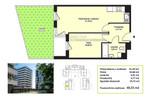 Morizon WP ogłoszenia | Mieszkanie na sprzedaż, Kraków Mistrzejowice, 41 m² | 1039