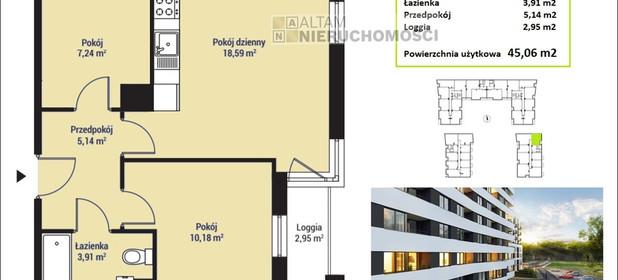 Mieszkanie na sprzedaż 45 m² Kraków M. Kraków Mistrzejowice - zdjęcie 1