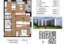 Mieszkanie na sprzedaż, Kraków Bieżanów-Prokocim, 67 m²