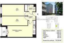Mieszkanie na sprzedaż, Kraków Mistrzejowice, 58 m²