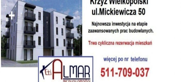 Mieszkanie na sprzedaż 34 m² Czarnkowsko-Trzcianecki Krzyż Wielkopolski - zdjęcie 3