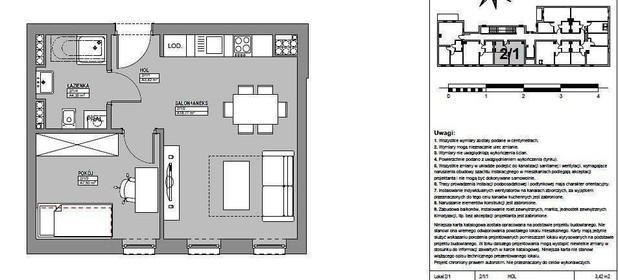 Mieszkanie na sprzedaż 38 m² Strzelecko-Drezdenecki Strzelce Krajeńskie - zdjęcie 2