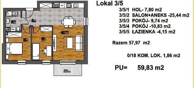 Mieszkanie na sprzedaż 57 m² Czarnkowsko-Trzcianecki Krzyż Wielkopolski - zdjęcie 2