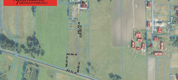 Działka na sprzedaż 4518 m² Bydgoski Białe Błota Kruszyn Krajeński - zdjęcie 2