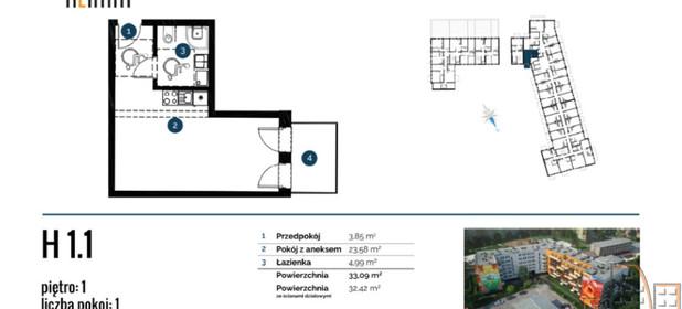 Mieszkanie na sprzedaż 43 m² Wrocław Wrocław-Krzyki Brzoskwiniowa - zdjęcie 2