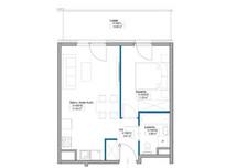 Mieszkanie w inwestycji Mokotów, ul. Kłobucka, Warszawa, 37 m²