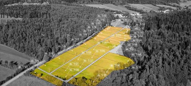 Działka na sprzedaż 820 m² Gorlicki Uście Gorlickie Śnietnica - zdjęcie 3