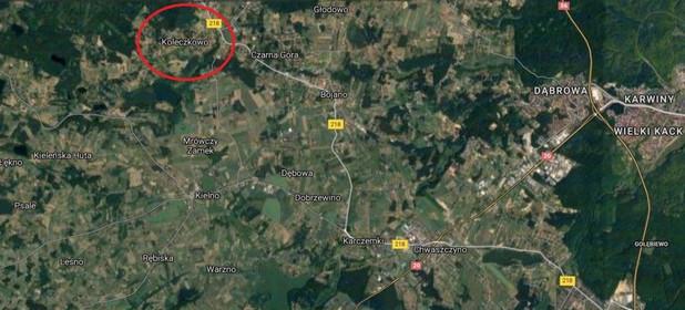 Działka na sprzedaż 1300 m² Wejherowski Szemud Koleczkowo Kamieńska - zdjęcie 3