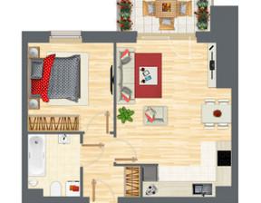 Mieszkanie w inwestycji Słowackiego 77, Gdańsk, 48 m²
