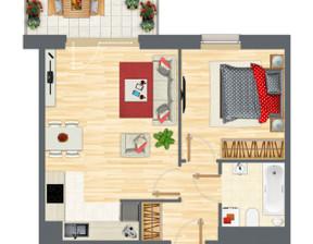 Mieszkanie w inwestycji Słowackiego 77, Gdańsk, 46 m²