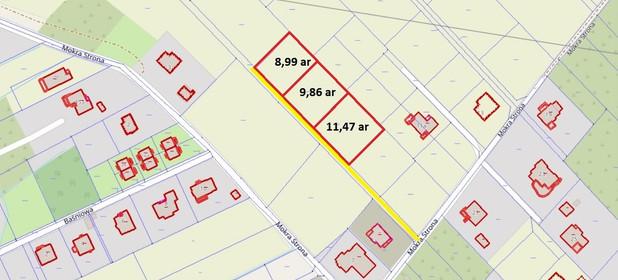 Działka na sprzedaż 899 m² Rzeszów Biała Mokra Strona - zdjęcie 3