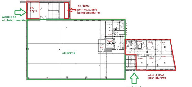 Lokal do wynajęcia 17 m² Siemianowice Śląskie 1 maja - zdjęcie 3
