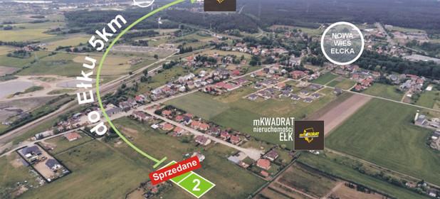 Działka na sprzedaż 1080 m² Ełcki Ełk Nowa Wieś Ełcka - zdjęcie 1