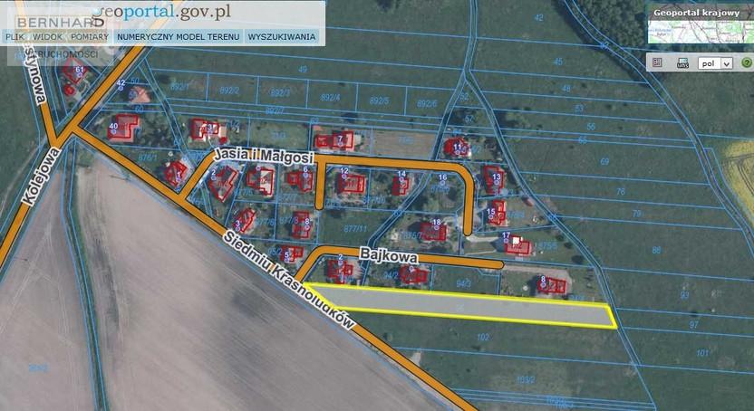 Działka na sprzedaż, Kamieniec Wrocławski, 2964 m² | Morizon.pl | 8062