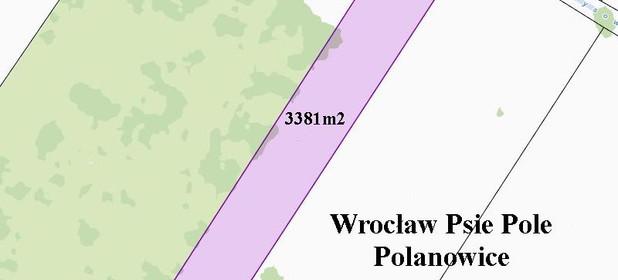 Działka na sprzedaż 3381 m² Wrocław Psie Pole Polanowice - zdjęcie 1