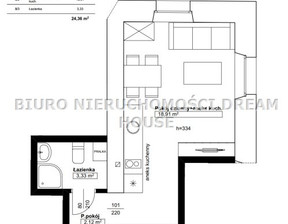 Kawalerka na sprzedaż, Bydgoszcz Bartodzieje-Skrzetusko-Bielawki, 25 m²