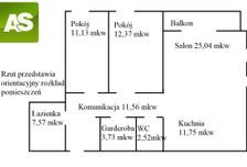 Mieszkanie na sprzedaż, Knurów Zimowa, 86 m²