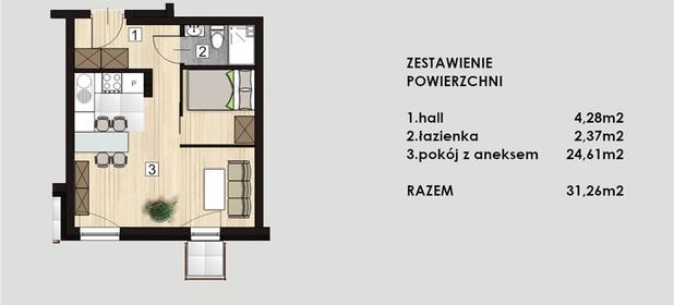 Mieszkanie na sprzedaż 31 m² Gliwicki (pow.) Knurów 26 Stycznia - zdjęcie 1