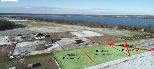 Działka na sprzedaż 1041 m² Ełcki Ełk Koziki - zdjęcie 3