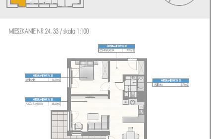 Mieszkanie na sprzedaż 53 m² Poddębicki (pow.) Uniejów (gm.) Uniejów Targowa - zdjęcie 1